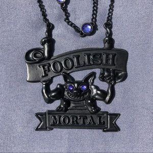 Disney - Haunted Mansion - Foolish Mortal Necklace